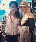 Christina Aguilera Arrives at Airport - September 23
